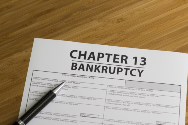 Chapter 13 bankruptcy petition.